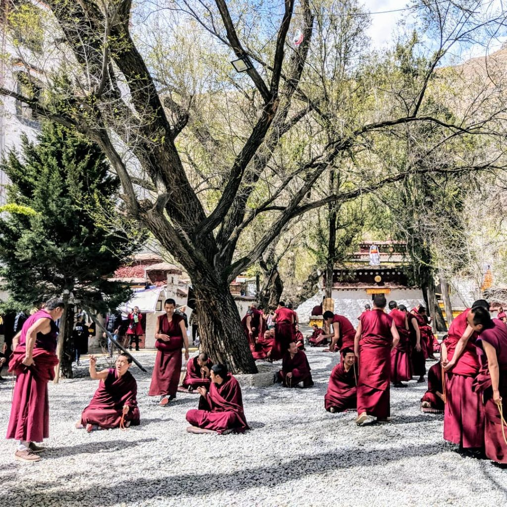 10-Day Ganden to Samye Trek Private Tour. Day 2_Sera Monastery