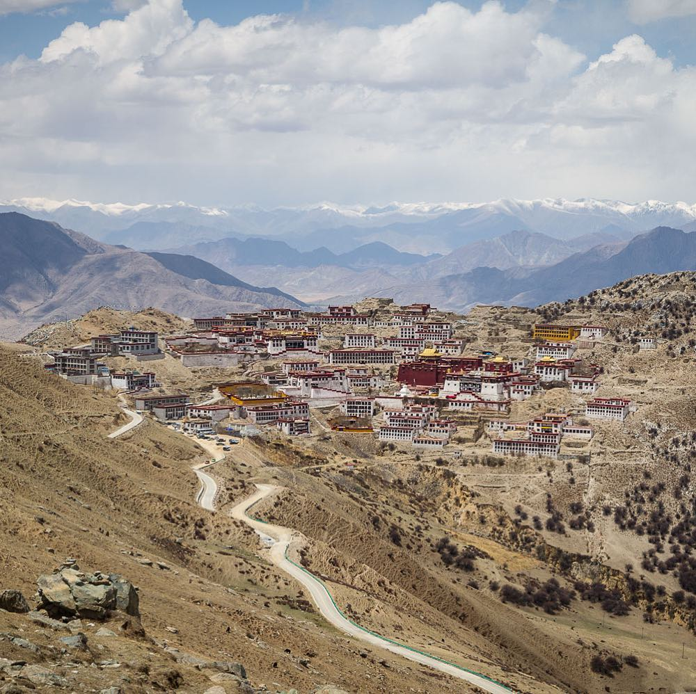10-Day Ganden to Samye Trek Private Tour. Day 4_Ganden Monastery