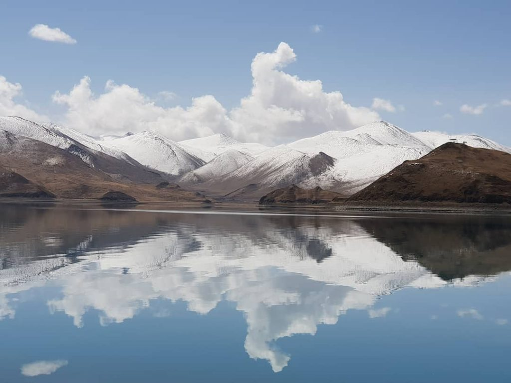 10-Day Everest Base Camp and Namtso Lake Private Tour. Day 4_Yamdrok Lake