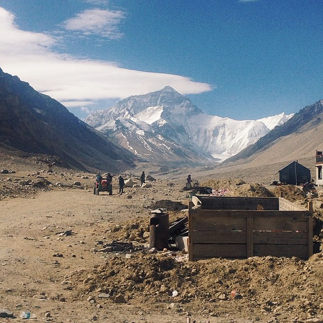 10-Day Everest Base Camp and Namtso Lake Private Tour. Day 7_Everest base camp
