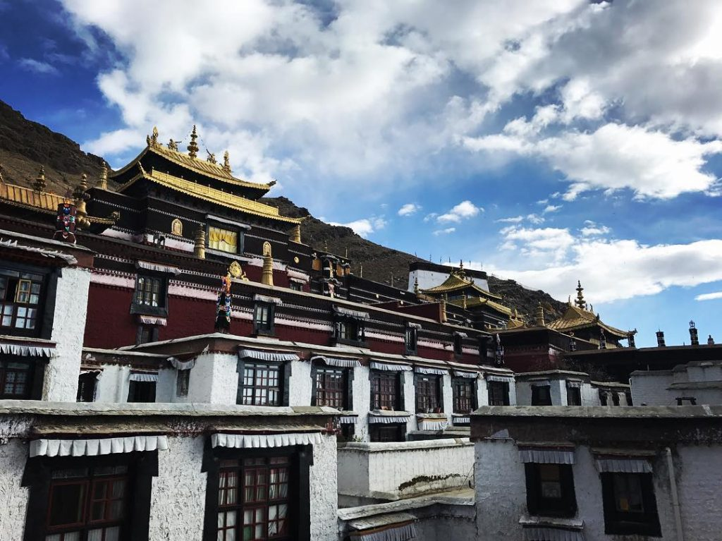 10 Days Lhasa to Tibet Everest Base Camp and Namtso Lake Group Tour. Day 5_Tashi Lhunpo