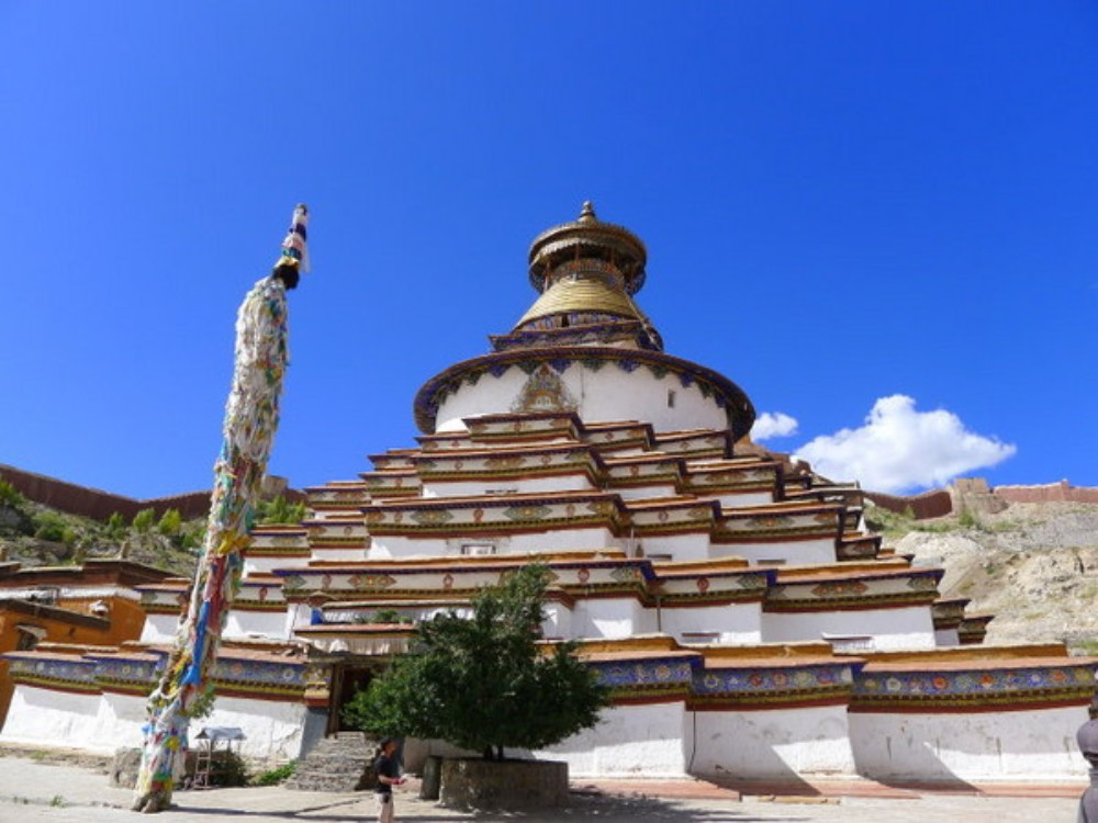 10D9N Everest Base Camp Namtso Lake Nepal Border Private Tour. Day 6_Kumbum stupa