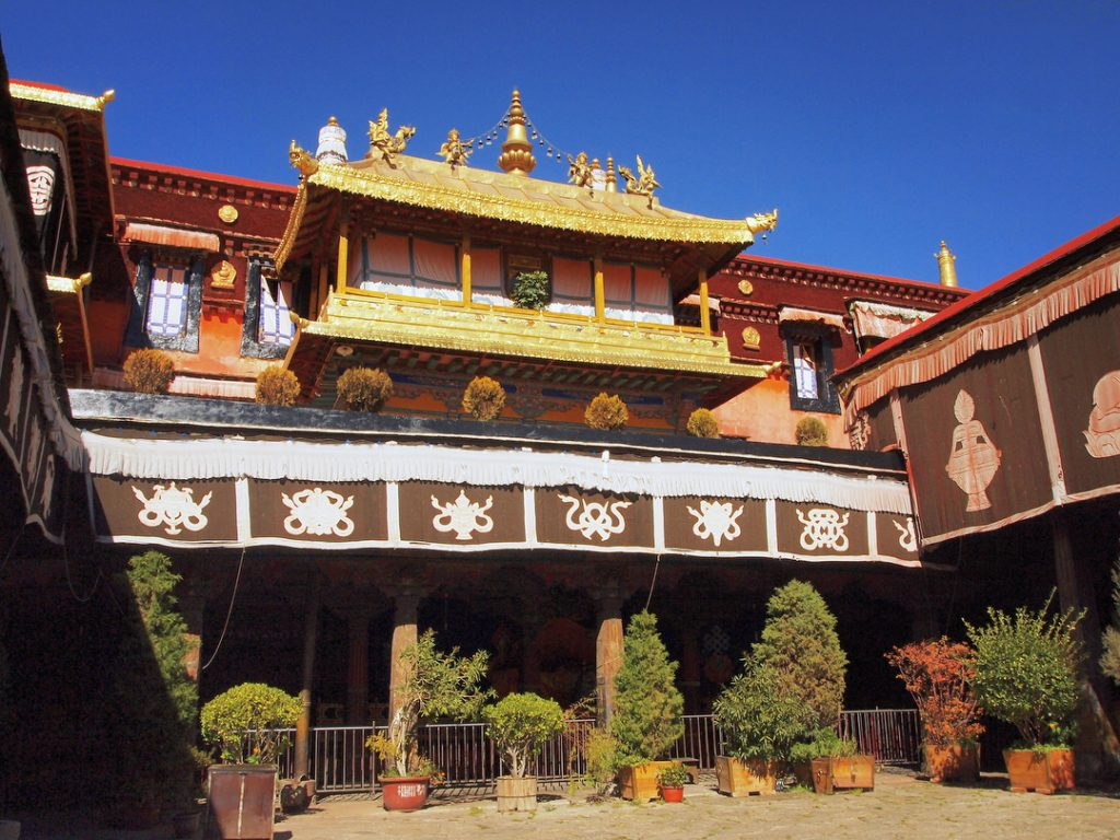 11 Days Ganden Monastery to Samye Monastery Trek Group Tour. Day 2_Jokhang Temple