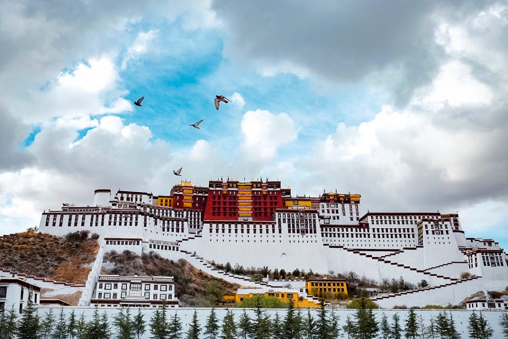 11 Days Ganden Monastery to Samye Monastery Trek Group Tour. Day 3_Potala Palace