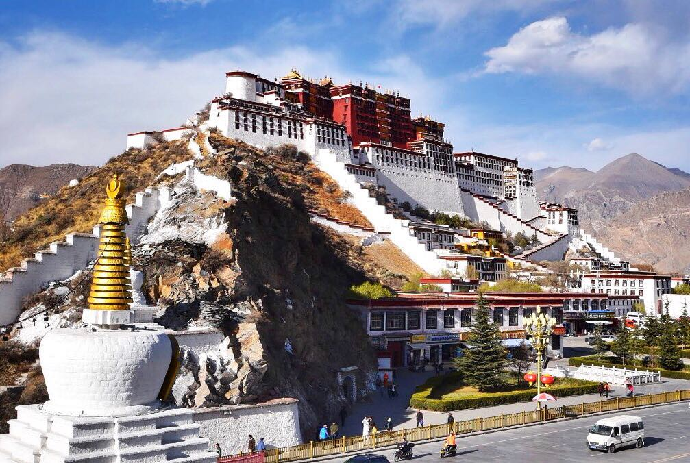 15 Days Mount Kailash and Lake Mansarovar Group Tour. Day 3_Potala Palace