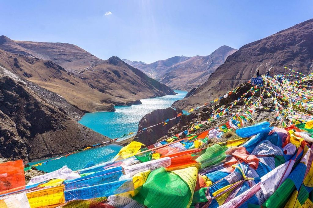 15 Days Mount Kailash and Lake Mansarovar Group Tour. Day 4_Yamdrok Lake