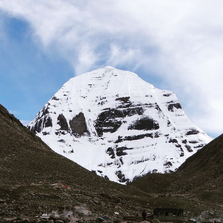 16-Day Everest Base Camp, Lake Mansarovar, Mount Kailash Private Tour. Day 10_Dirapuk