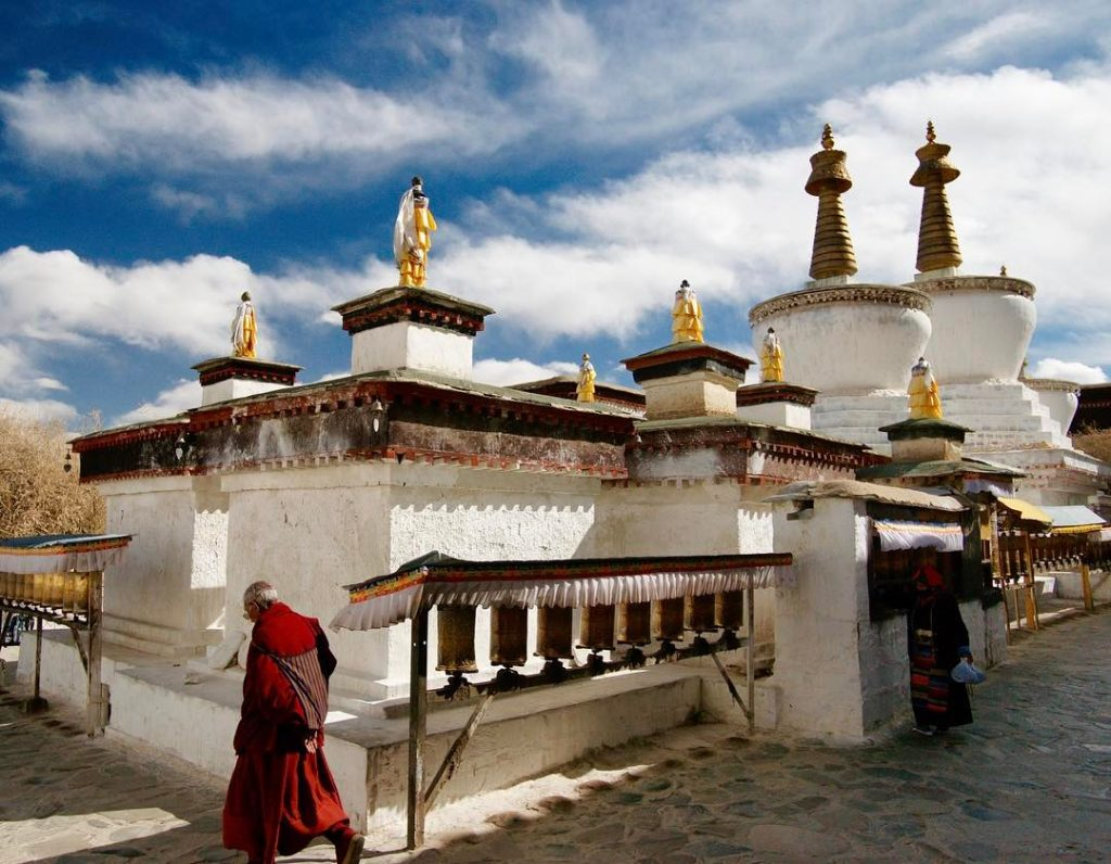 16-Day Everest Base Camp, Lake Mansarovar, Mount Kailash Private Tour. Day 6_Rongbuk Monastery