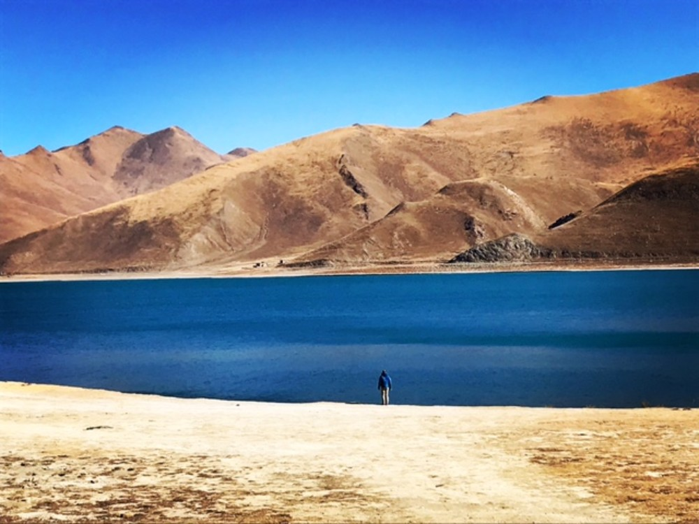 16D15N Western Tibet, Guge Kingdom, Lake Mansarovar Private Tour. Day 5_Yamdrok Lake