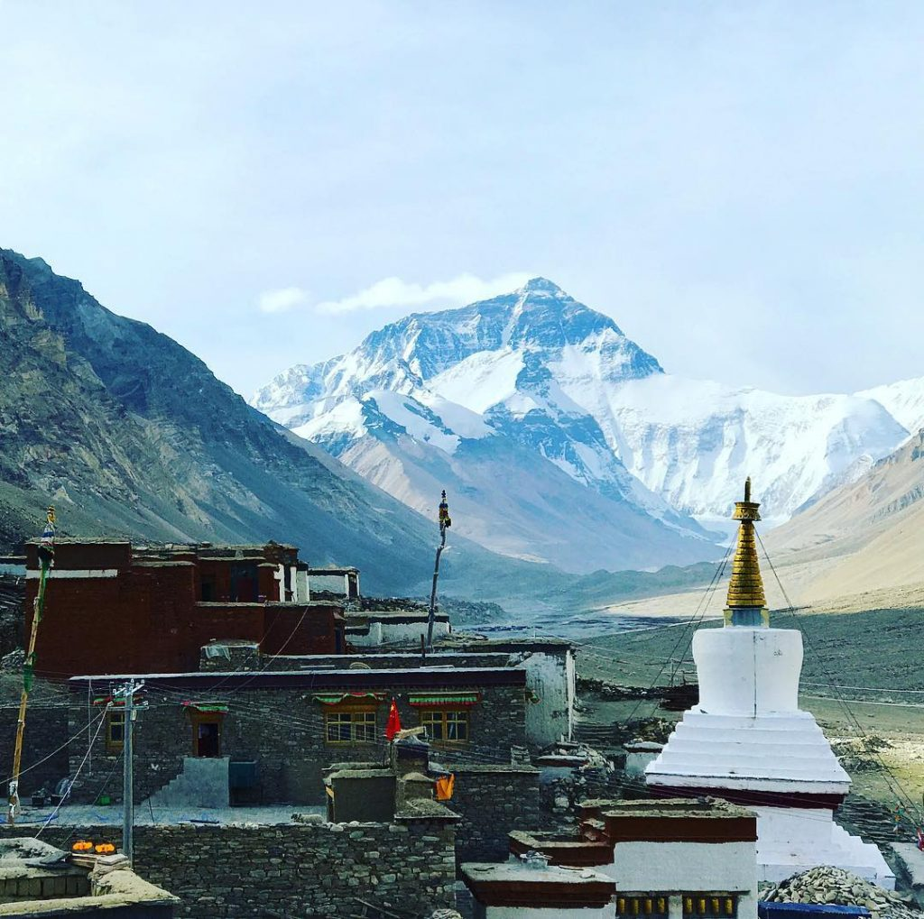 17 Days Everest Base Camp, Guge Kingdom, Mt. Kailash Group Tour. Day 14_Rongbuk Monastery