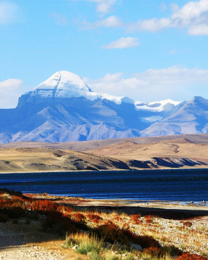 17 Days Everest Base Camp, Guge Kingdom, Mt. Kailash Group Tour. Day 7_Lake Mansarovar