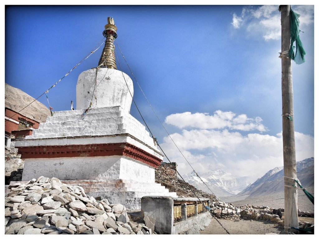 19-Day Mount Kailash, Guge Kingdom, Mount Everest Private Tour. Day 6_Rongbuk Monastery
