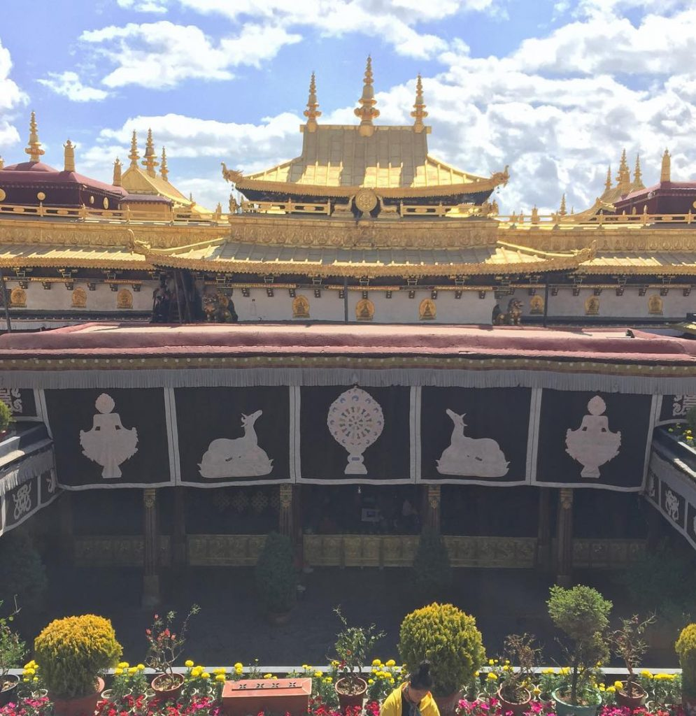 4 Days Lhasa city group tour. 4D Lhasa Small Group Tour - Day 2_Jokhang Temple