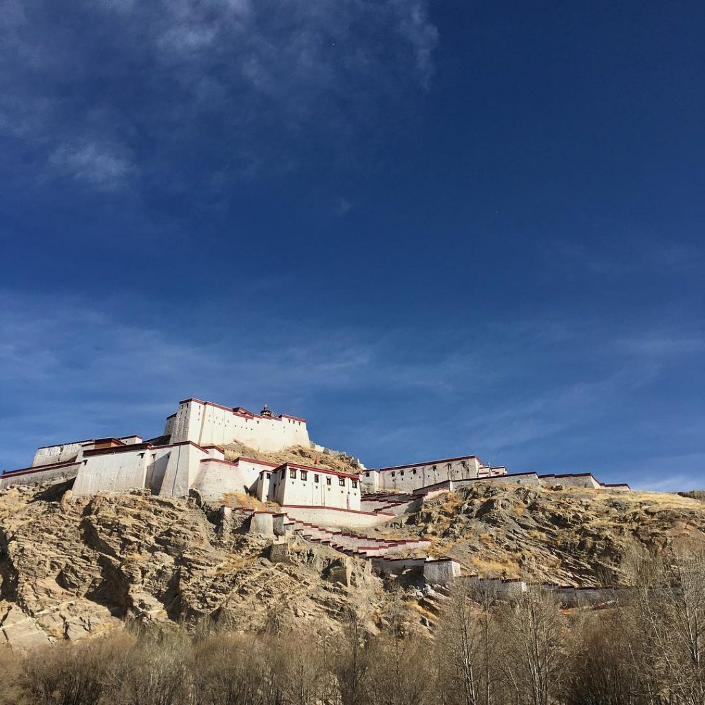 7-Day Lhasa, Yamdrok Lake, Gyantse, Shigatse Private Tour. Day 5_Gyantse Dzong