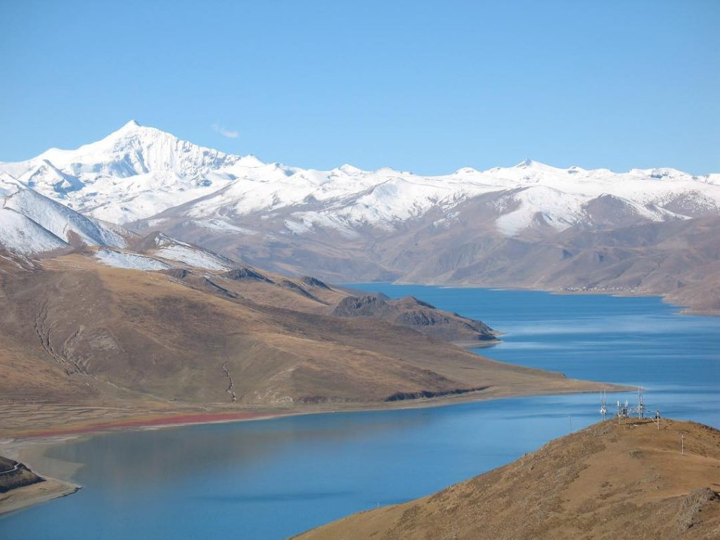 7 Days Lhasa to Everest Base Camp and Kathmandu. Day 4_Yamdrok Lake
