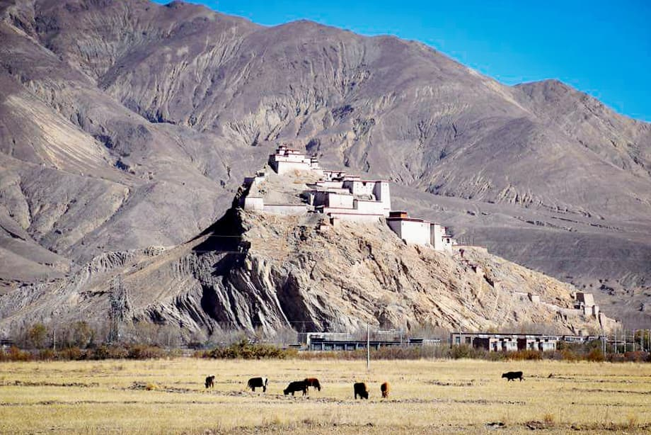 8-Day Central Tibet and Namtso Lake Private Tour. Day 5_Gyantse Dzong