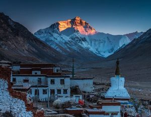 8-Day Lhasa to Everest Base Camp to Kathmandu Private Tour. Day 6_Rongbuk Monastery
