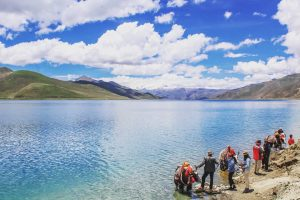 8 Days Lhasa to EBC, Tingri, Gyirong and Kathmandu Group Tour Day 4_Yamdrok Lake