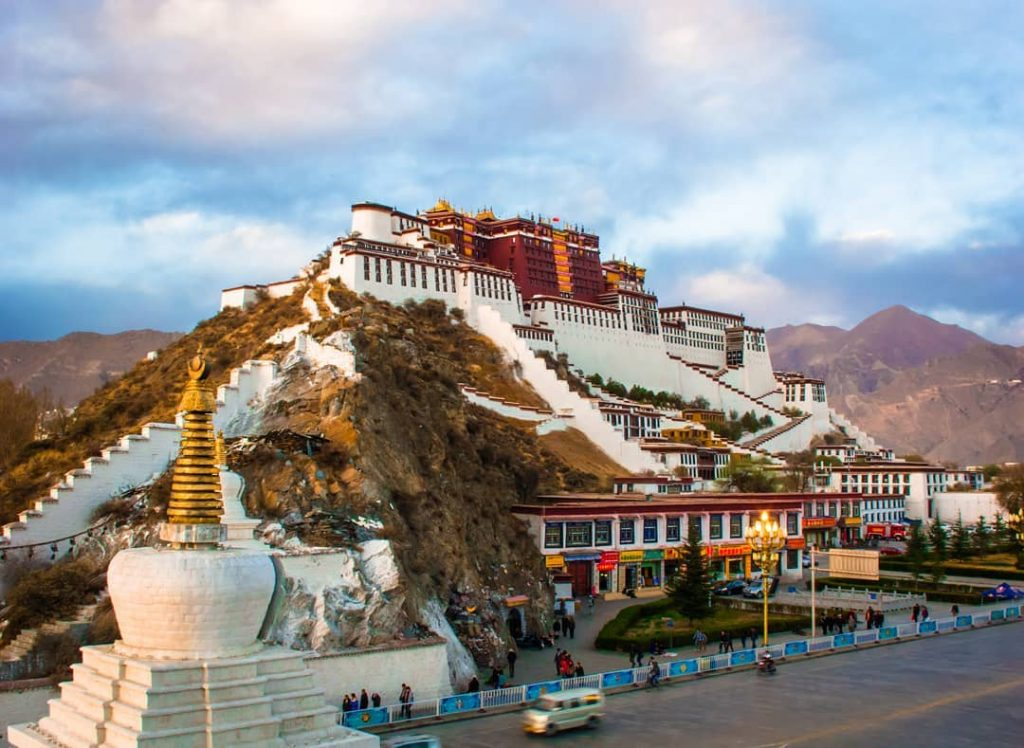 8 Days Lhasa to Everest Base Camp Group Tour. EBC Small Group Tour. Day 3_Potala Palace