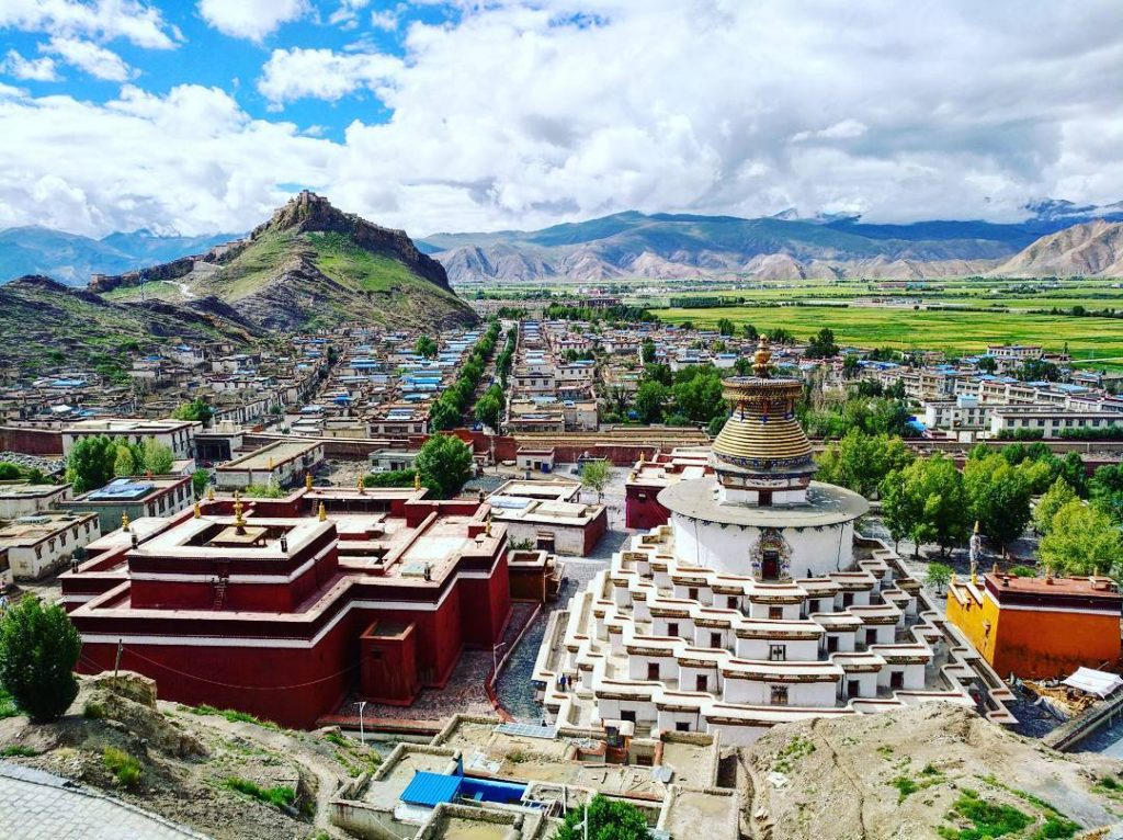 8 Days Lhasa to Everest Base Camp Group Tour. EBC Small Group Tour. Day 4_Gyantse palcho Monastery