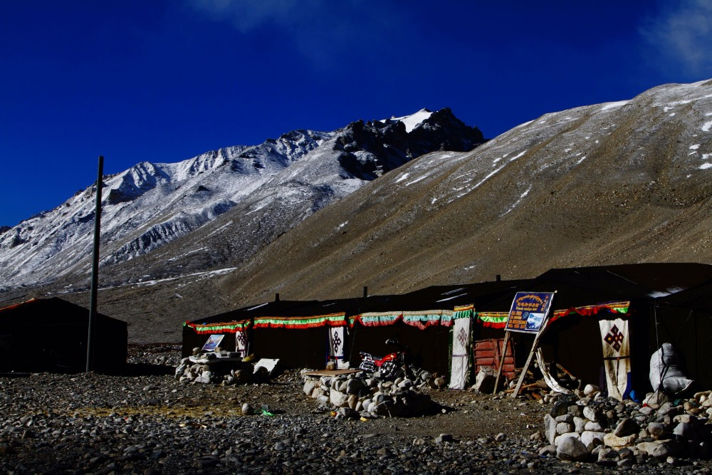 8D7N Tibet Birdwatching and Everest Base Camp Private Tour. Day 5_Tea tent guest house