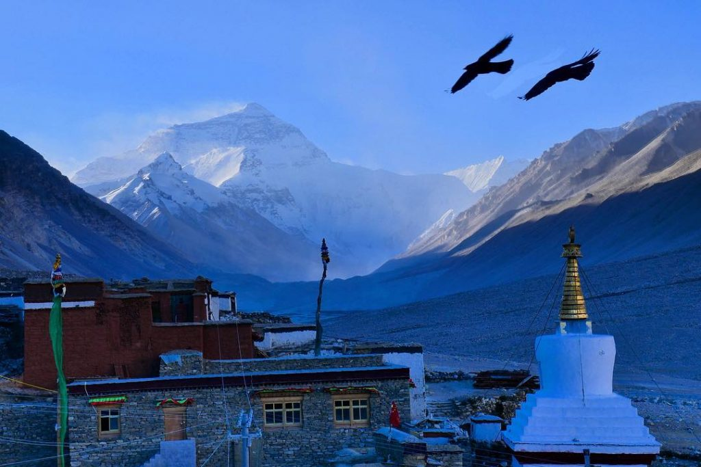 9-Day Lhasa to Everest Base Camp to Lhasa Private Tour. Day 6_Rongbuk Monastery