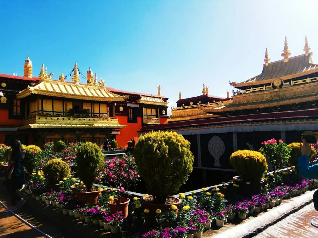 9 Days Lhasa to Everest Base Camp and Pelbar Group Tour. Day 2_Jokhang Temple