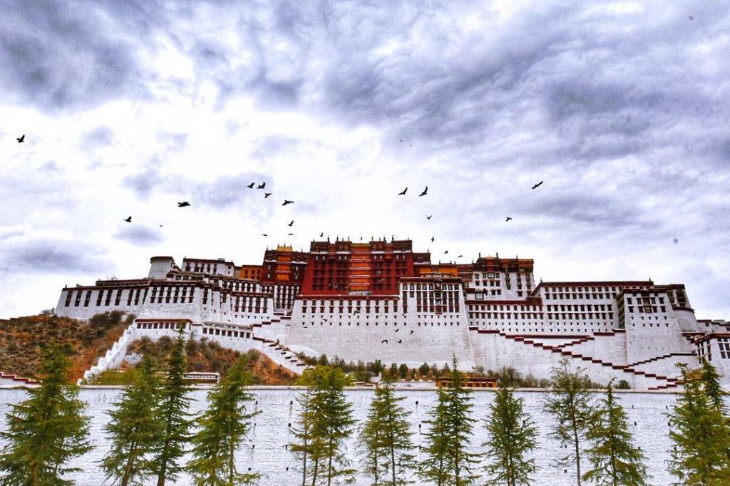 9 Days Lhasa to Everest Base Camp and Pelbar Group Tour. Day 3_Potala Palace