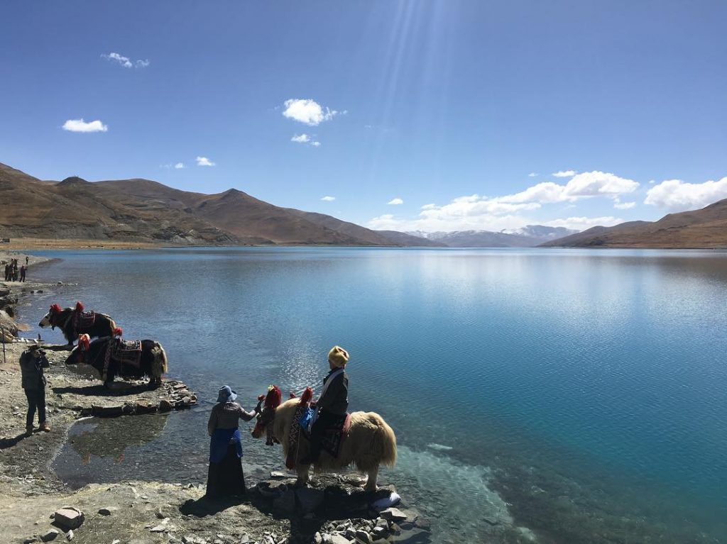 9 Days Lhasa to Everest Base Camp and Pelbar Group Tour. Day 4_Yamdrok Lake