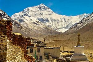 9 Days Lhasa to Everest Base Camp and Pelbar Group Tour. Day 6_Rongbuk Monastery