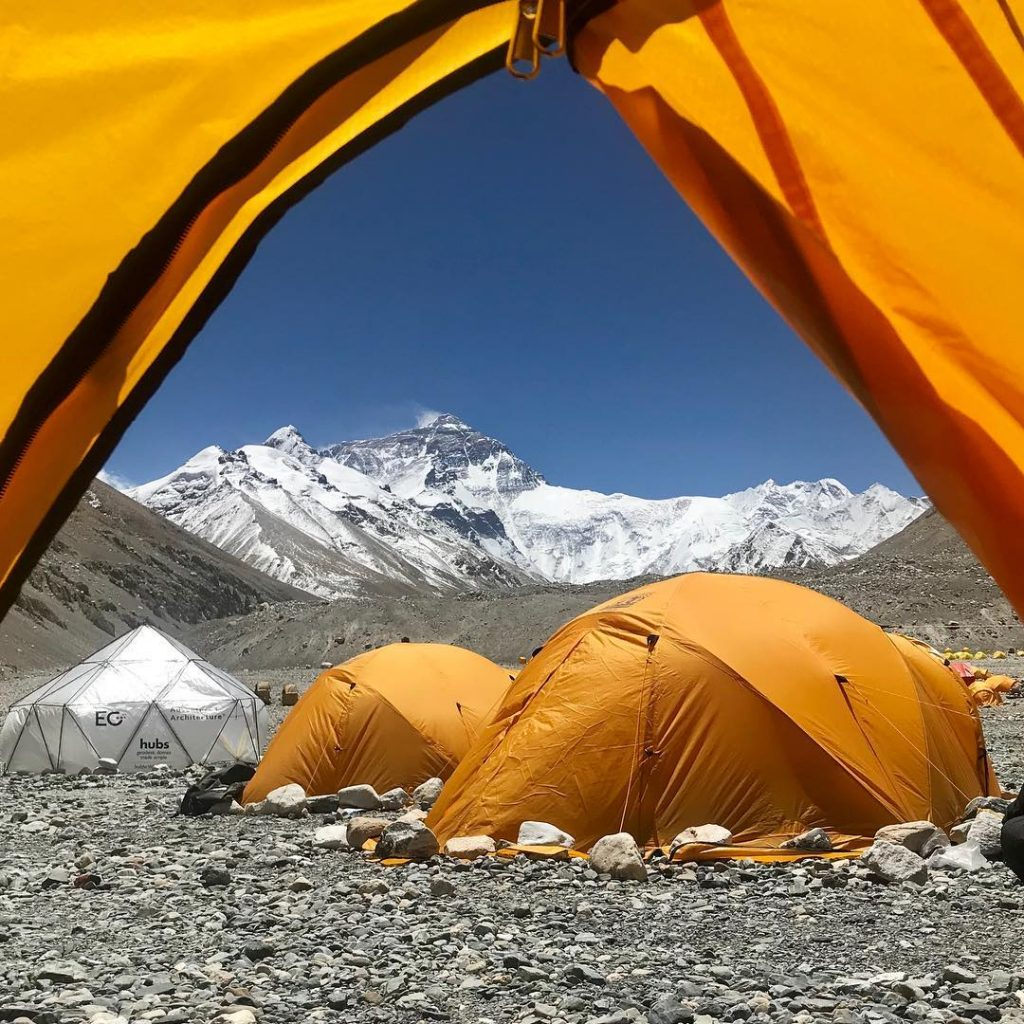 9 Days Lhasa to Everest Base Camp and Pelbar Group Tour. Day 7_Everest base camp sunrise