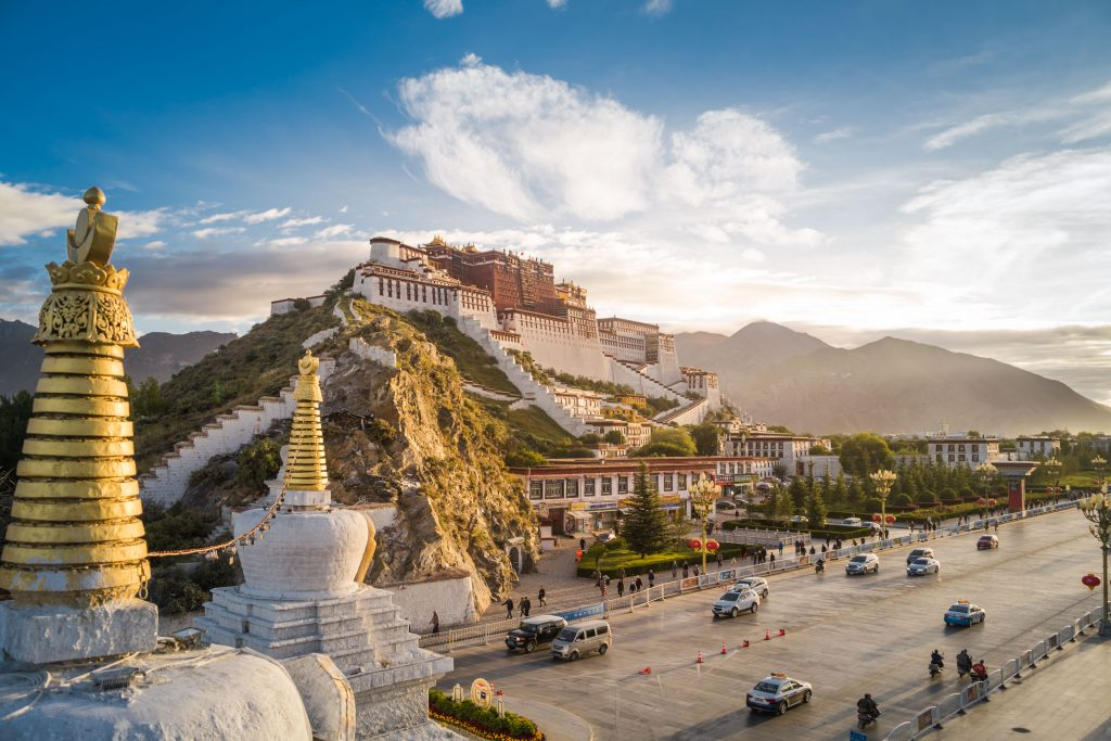 4 Days Lhasa city group tour. 4D Lhasa Small Group Tour. Day 3 Potala Palace