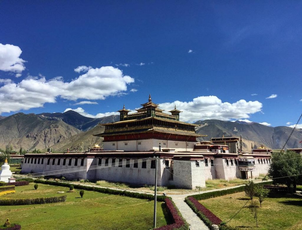 Top tibetan monasteries and temples. Buddhist monasteries in Tibet. Samye Monastery