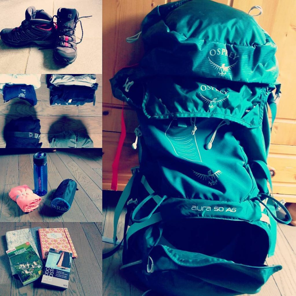 Trekking Packing List for Tibet. Hiking Checklist. What to pack for Tibet. bag